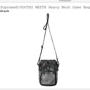 Supreme South2 West8 Heavy Mesh Game Bag🆕